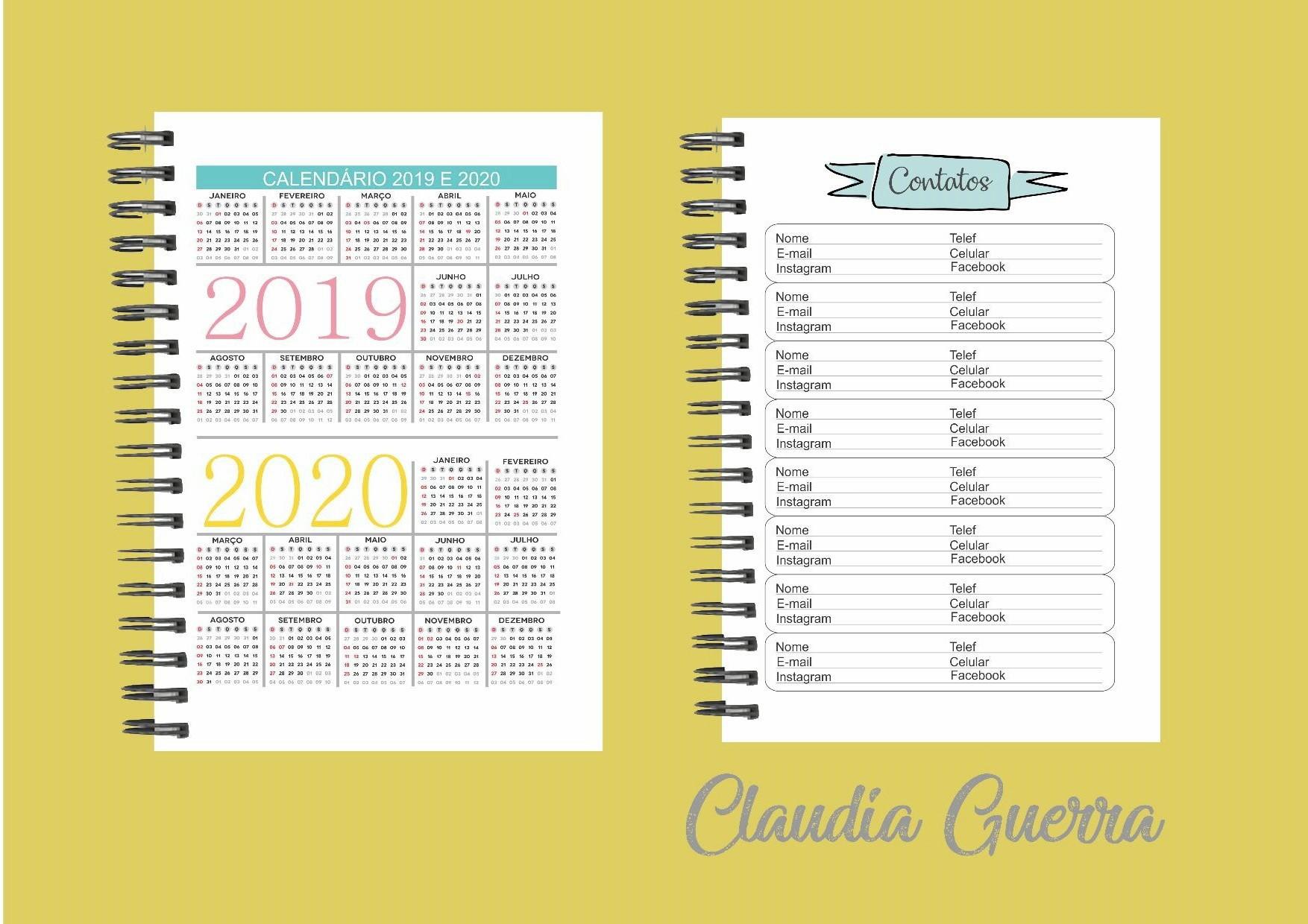 Calendario 2019 5 De Agosto Más Caliente Arquivo Digital Agenda Da Artesƒ A5