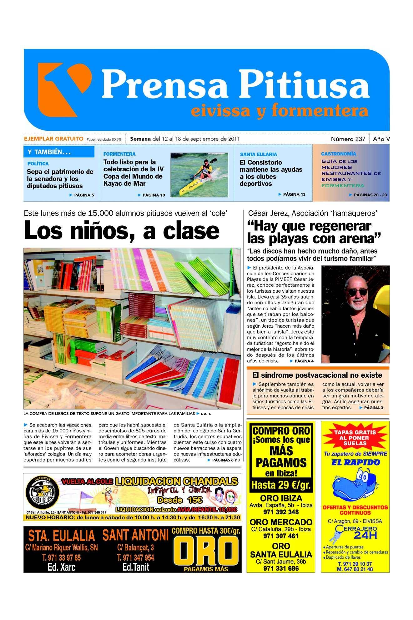 Calaméo Prensa Pitiusa edici³n 237