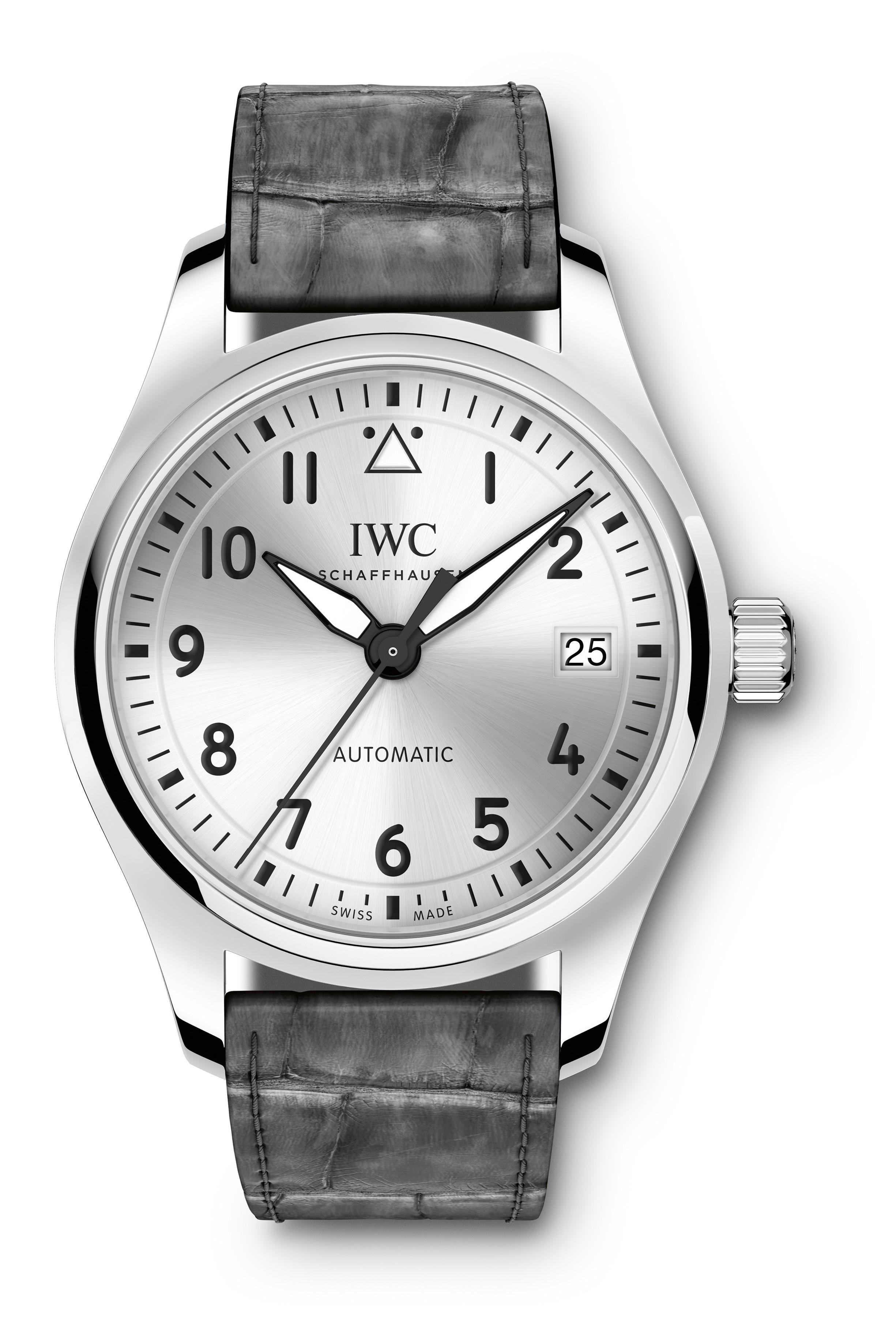 Calendario Anual Reloj Mejores Y Más Novedosos Iwc Reloj De Aviador Automático 36 Iw3240 Of Calendario Anual Reloj Más Caliente Calendario En Latin