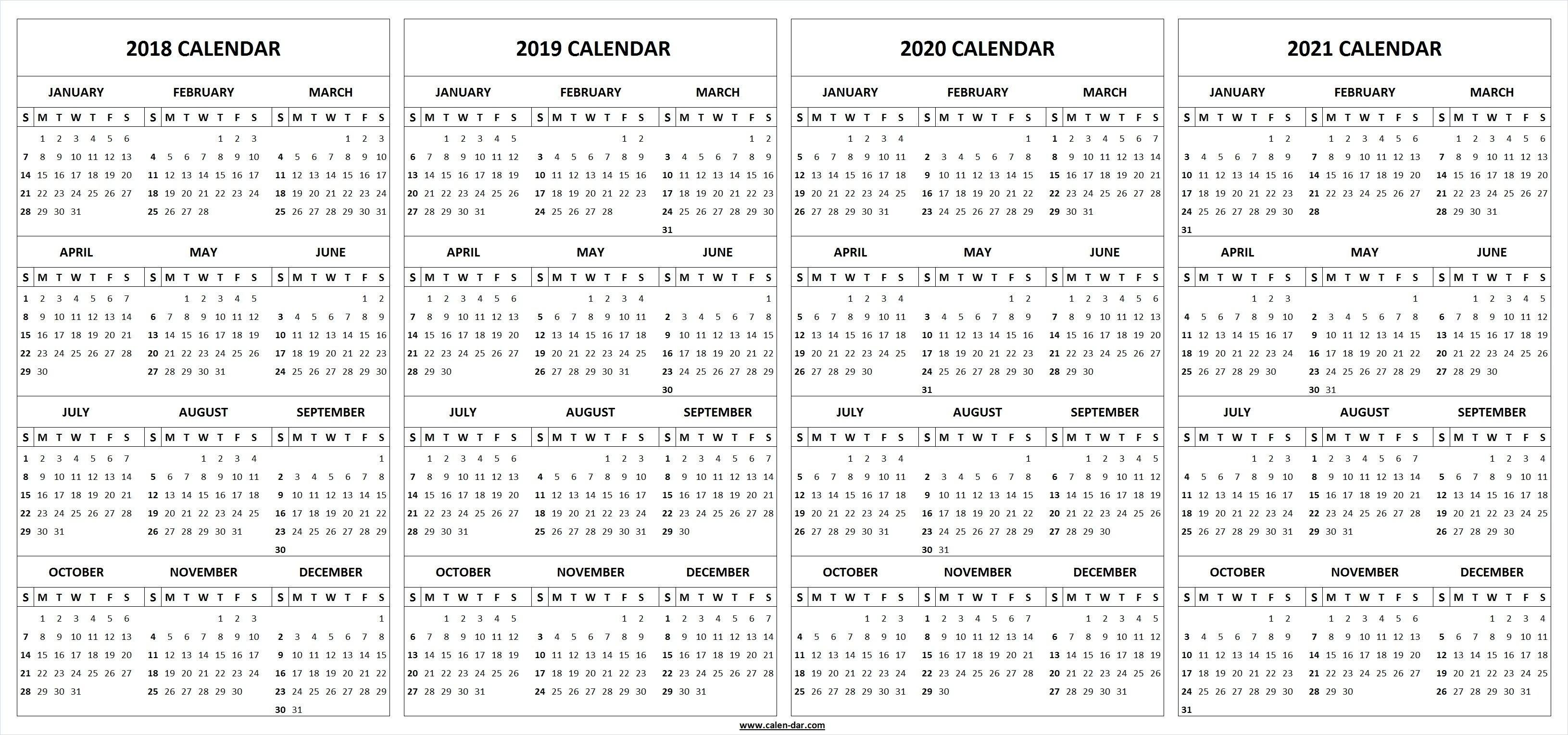 Adobe indesign calendar template 2020