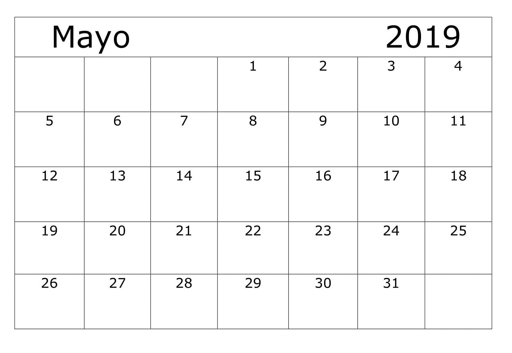 Calendario Motogp 2019 Más Populares Calendario Mayo2019