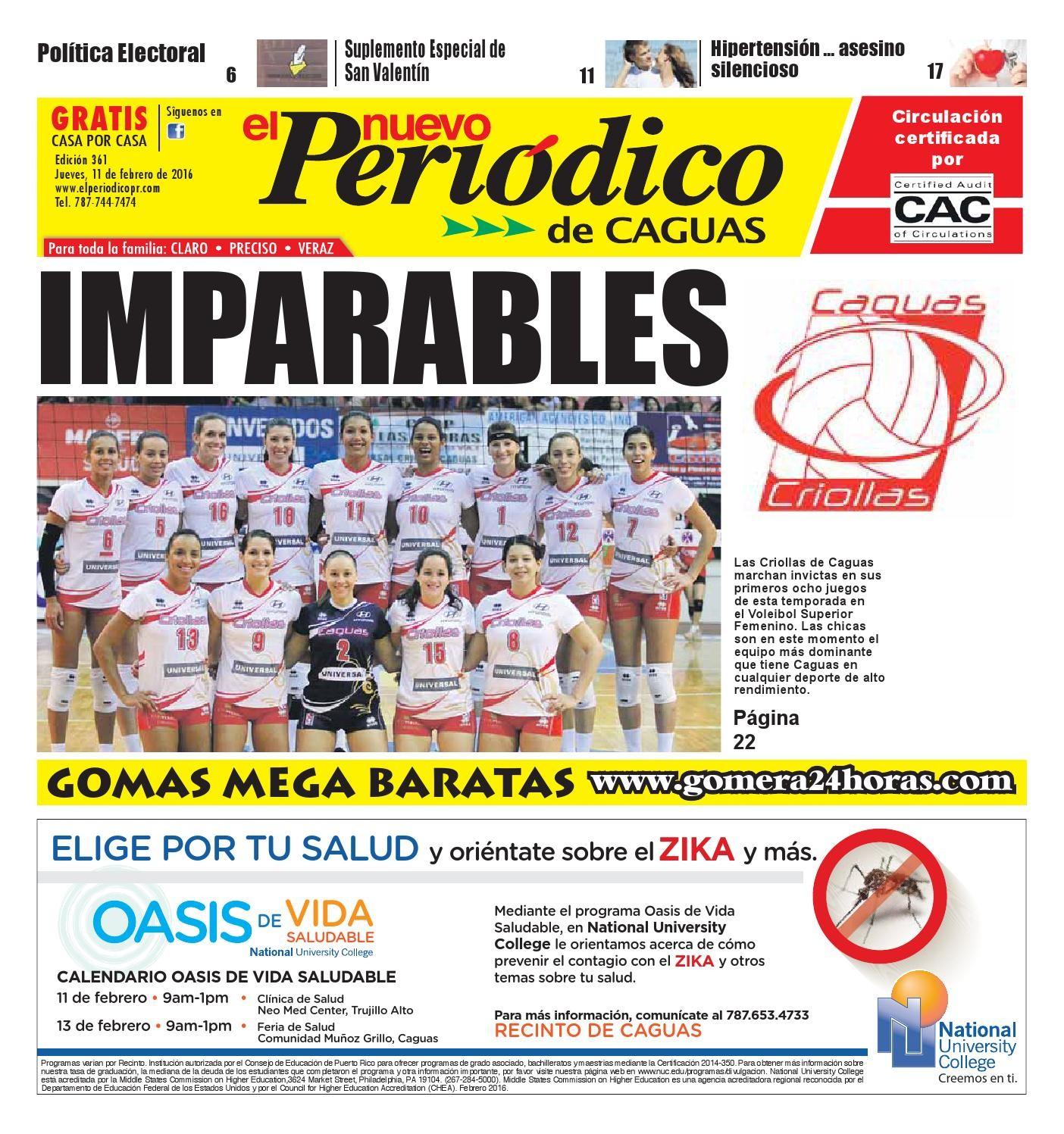 El Nuevo Peri³dico Edici³n 361 by El Nuevo Periodico de