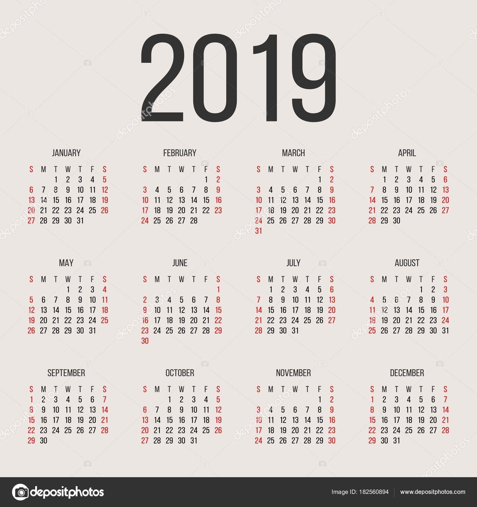calendario 2019 para imprimir feriados mexico mas reciente realmente esto calendario 2019 en ingles para imprimir of calendario 2019 para imprimir feriados mexico