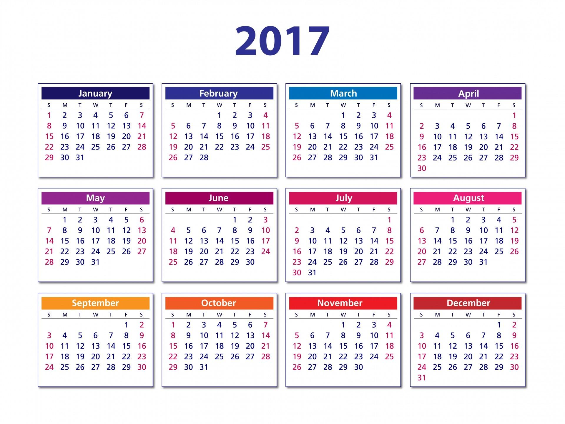 2017 calendar iy3