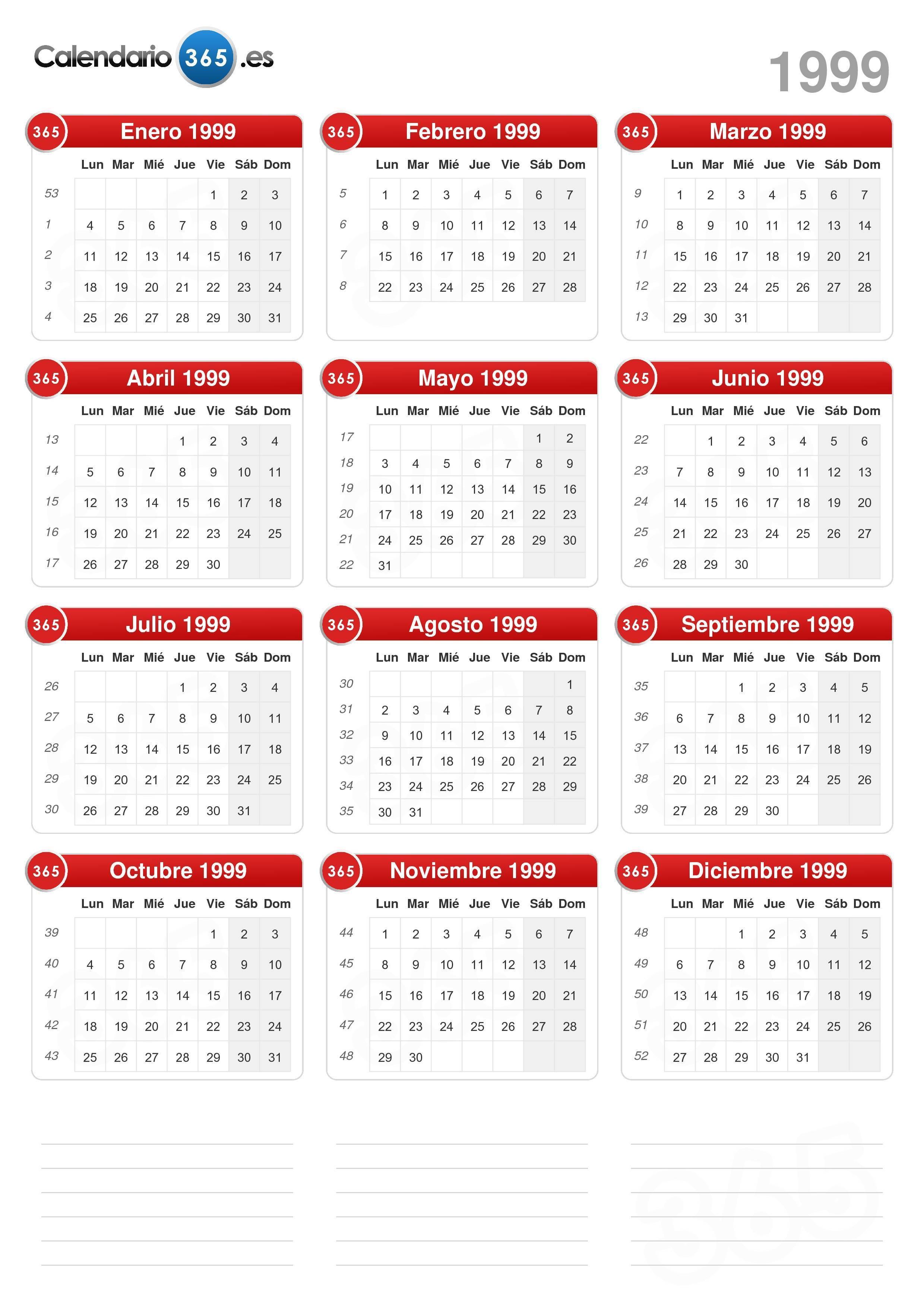 calendario 1999 formato vertical v2 0