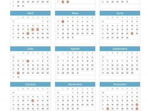 Calendario 2020 Argentina Con Feriados Recientes 15 Mejores Imágenes De Calendario De 2017