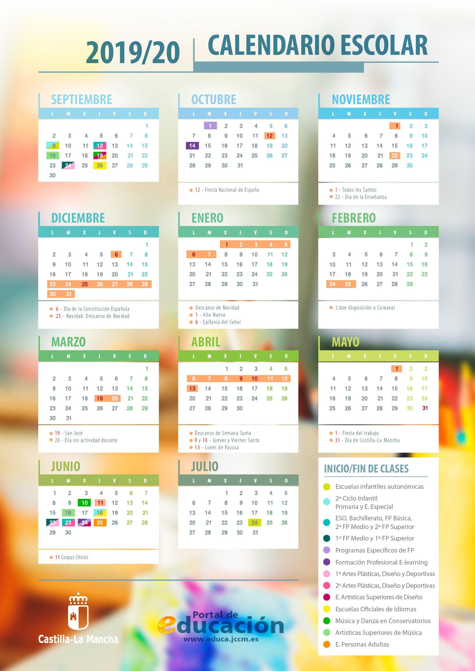 calendarioescolar19 20