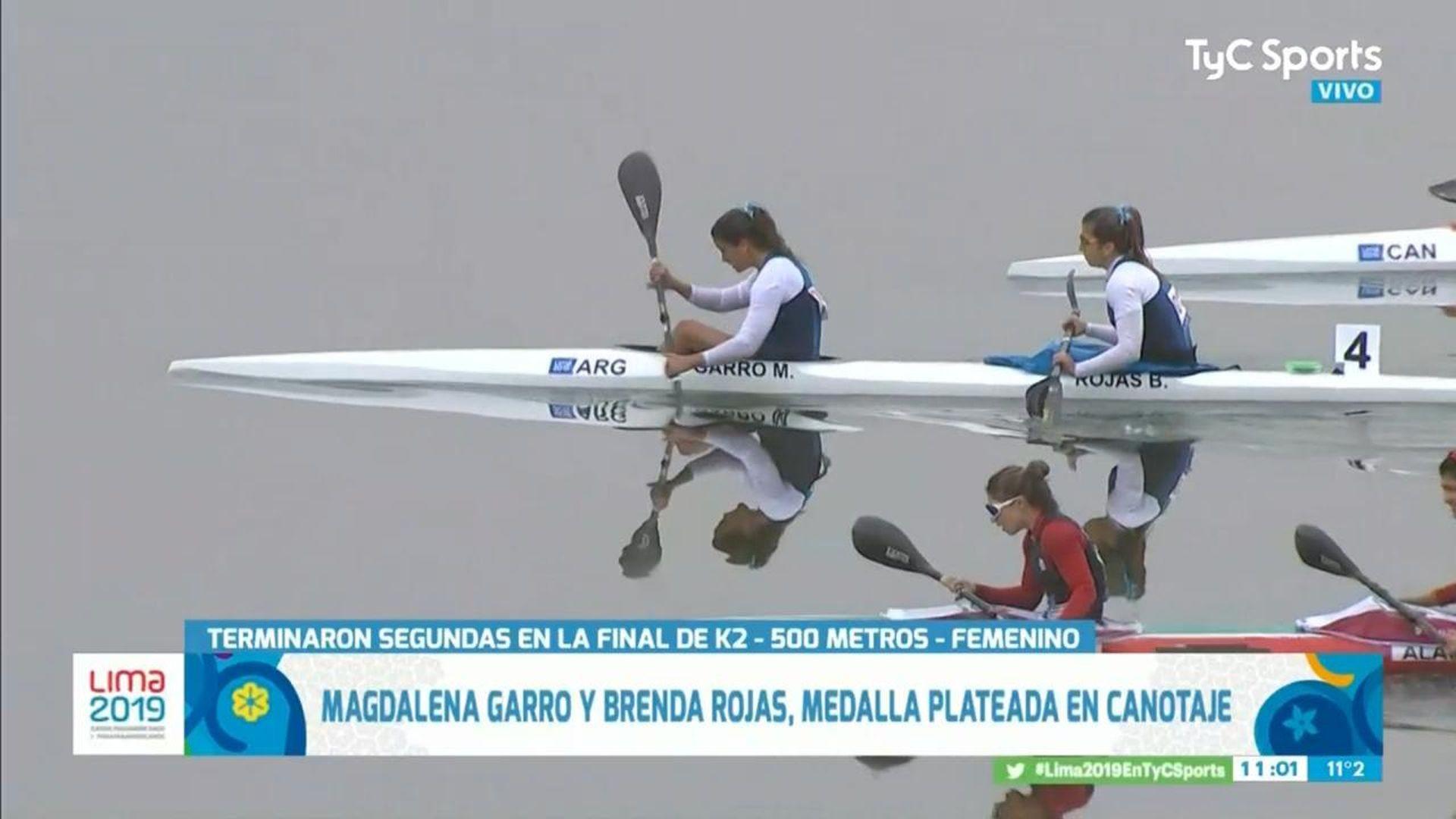 Magdalena Garro en TC en Panamericano jul 2019