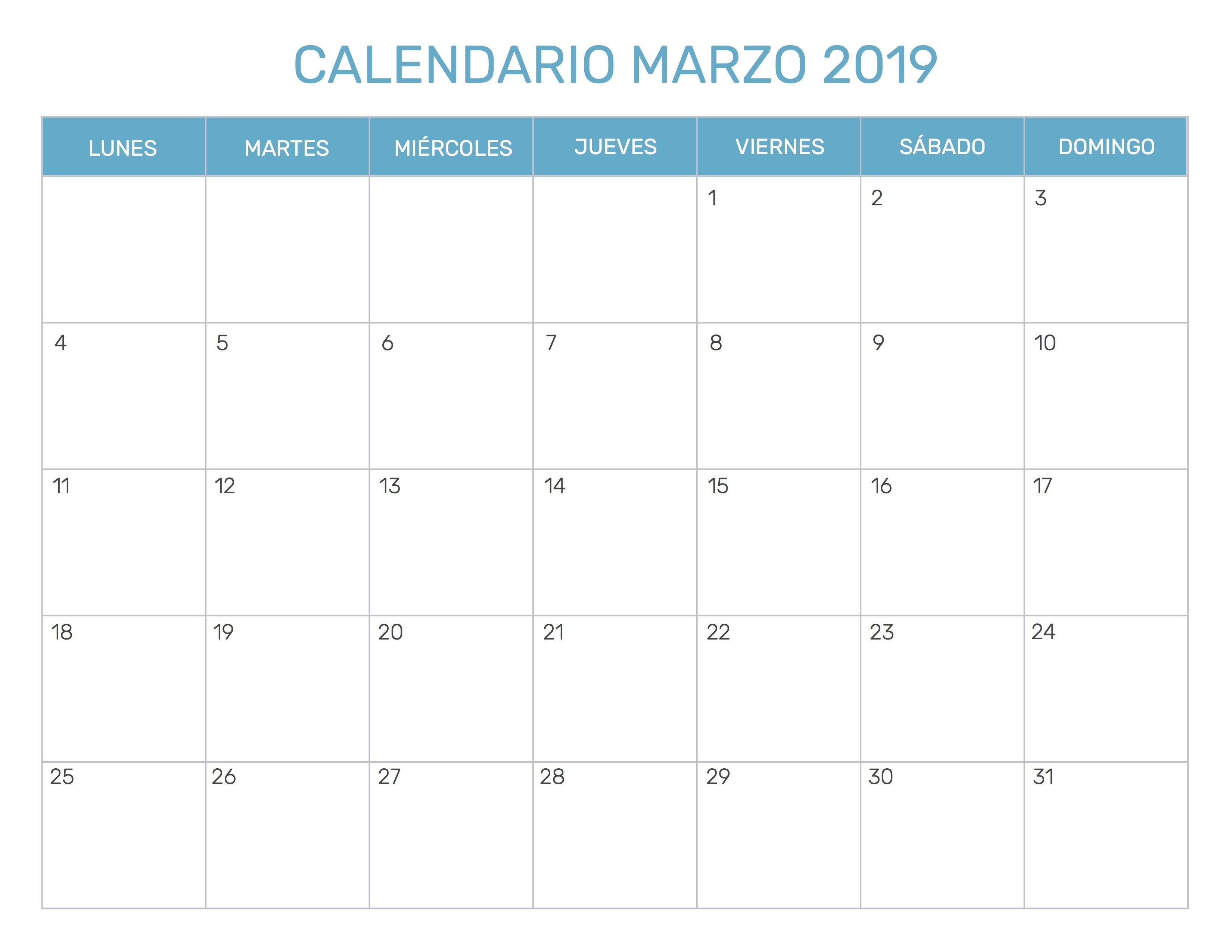descargar cuadrante mensual de horas trabajadas 2019