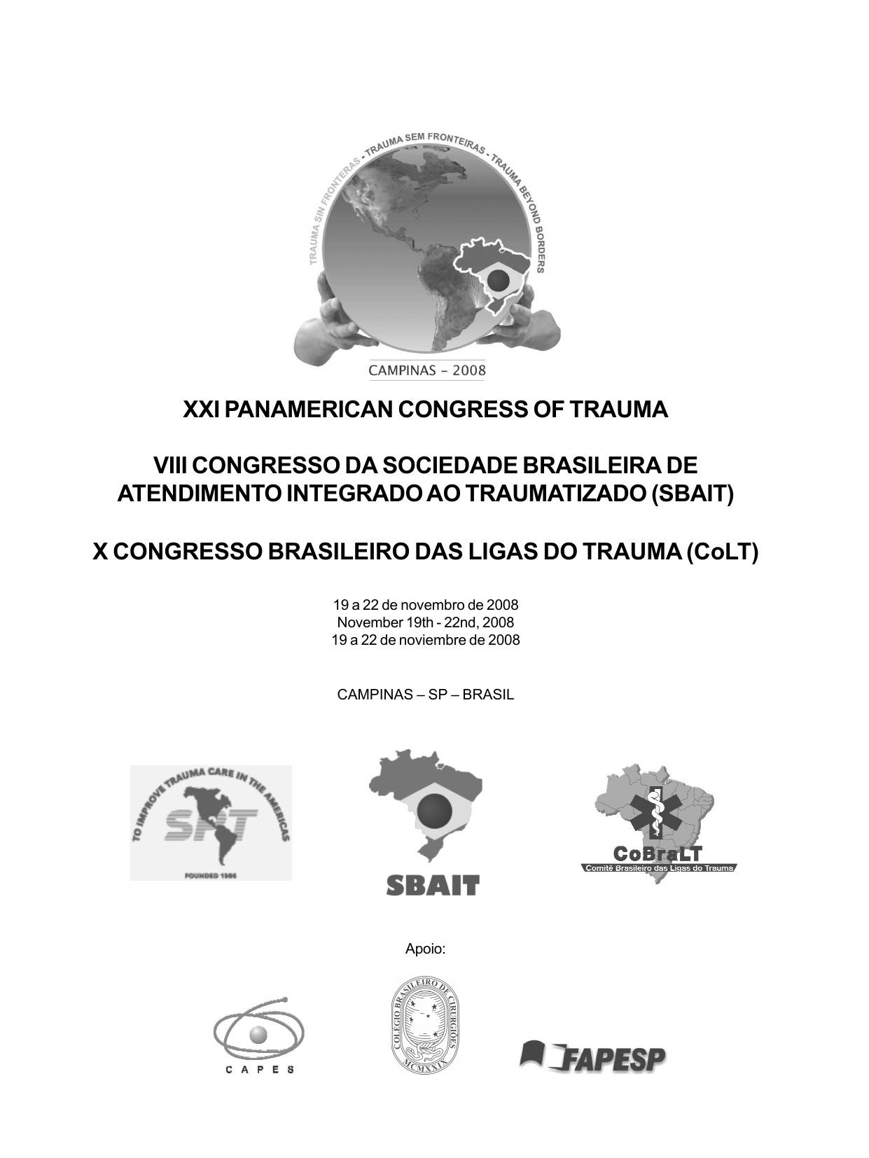 Calendario 2020 Feriados Rs Más Recientes Xxi Panamerican Congress Of Trauma Viii Congresso Da Of Calendario 2020 Feriados Rs Actual Calendario 2019 Br Arparis