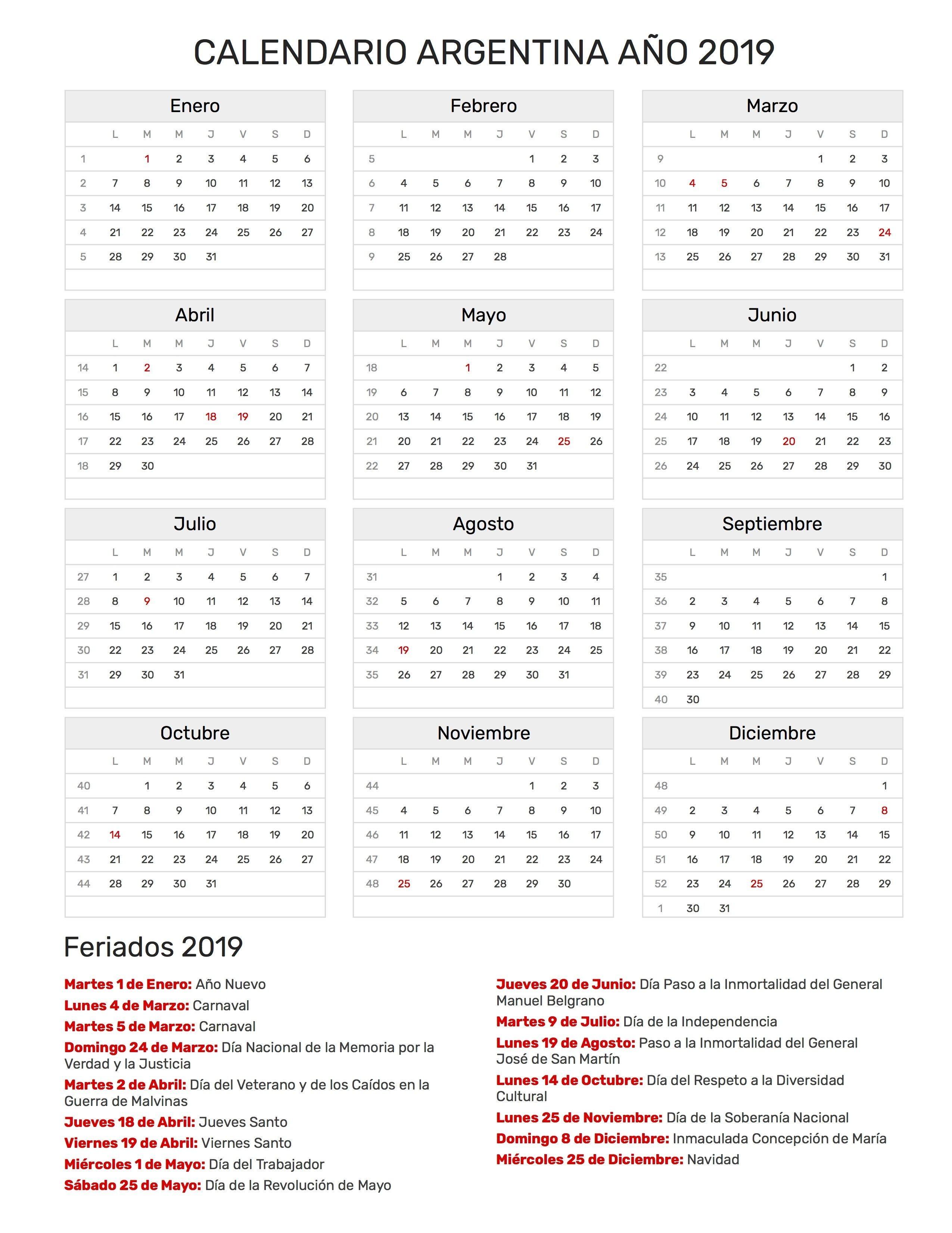 Calendario 2020 Festivos Para Colombia Más Recientes Calendario Diciembre De 2019 53ld Calendario T
