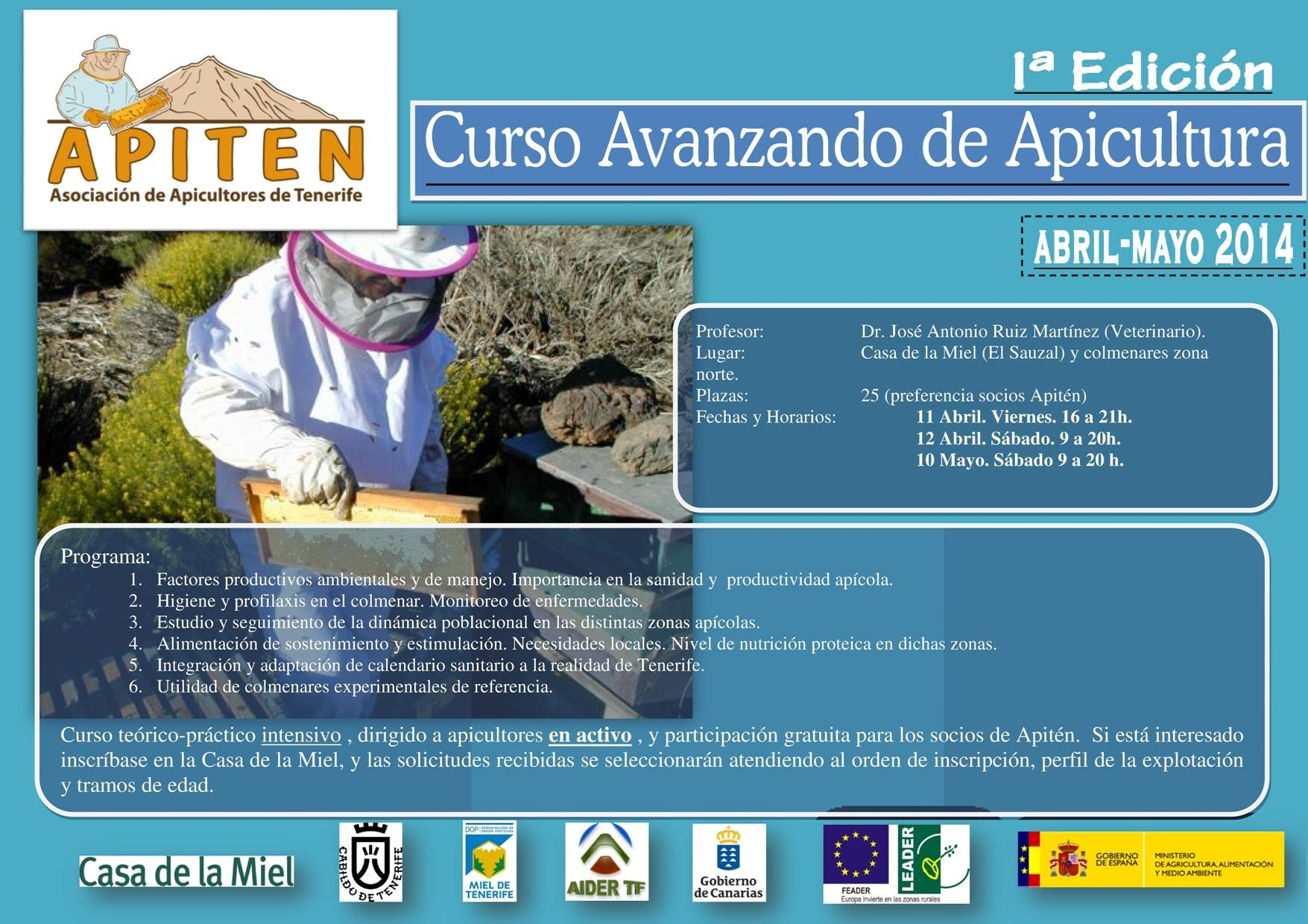 cartel curso avanzado red 0