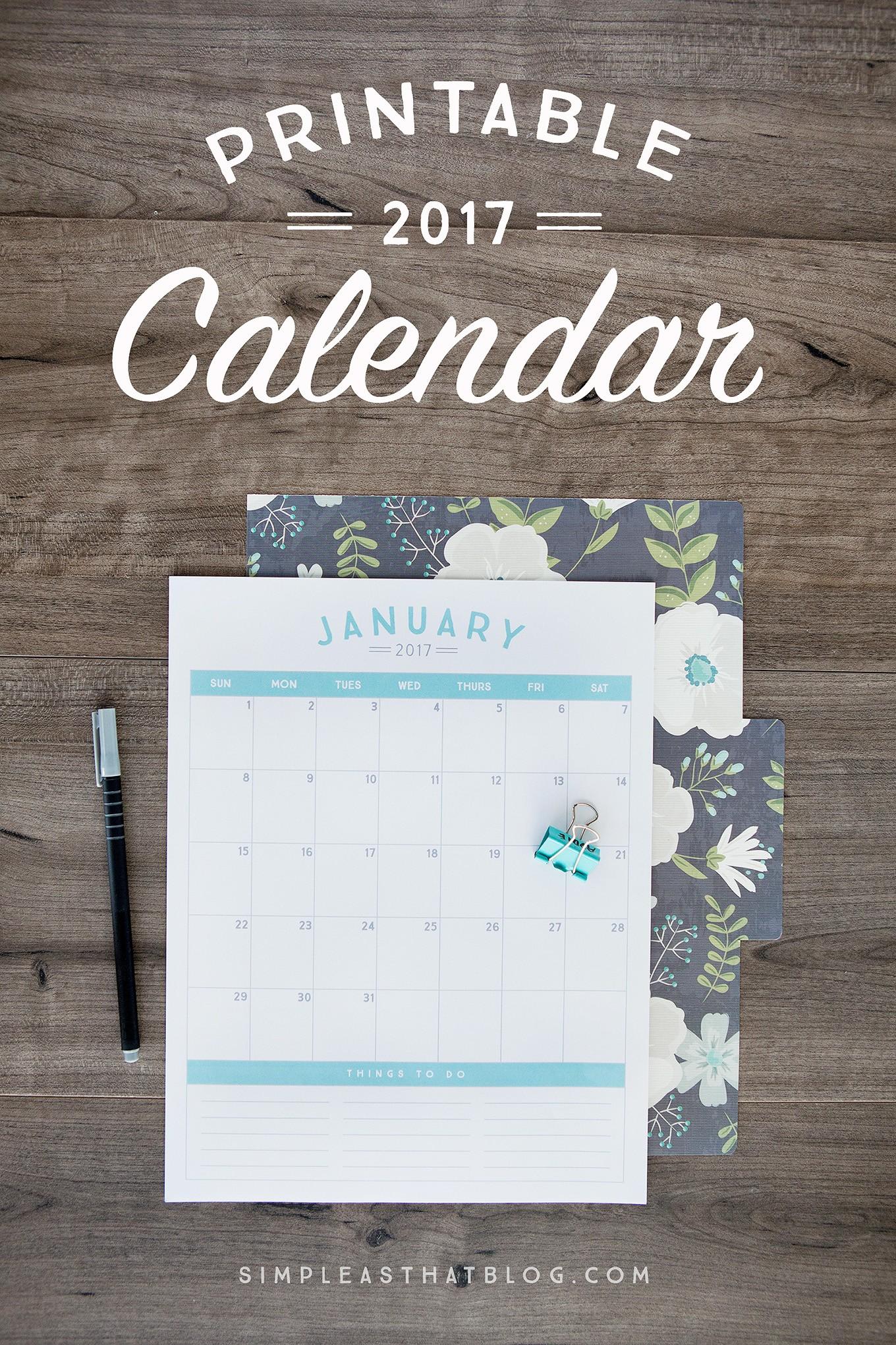 2017 calendar turquoise fullsize