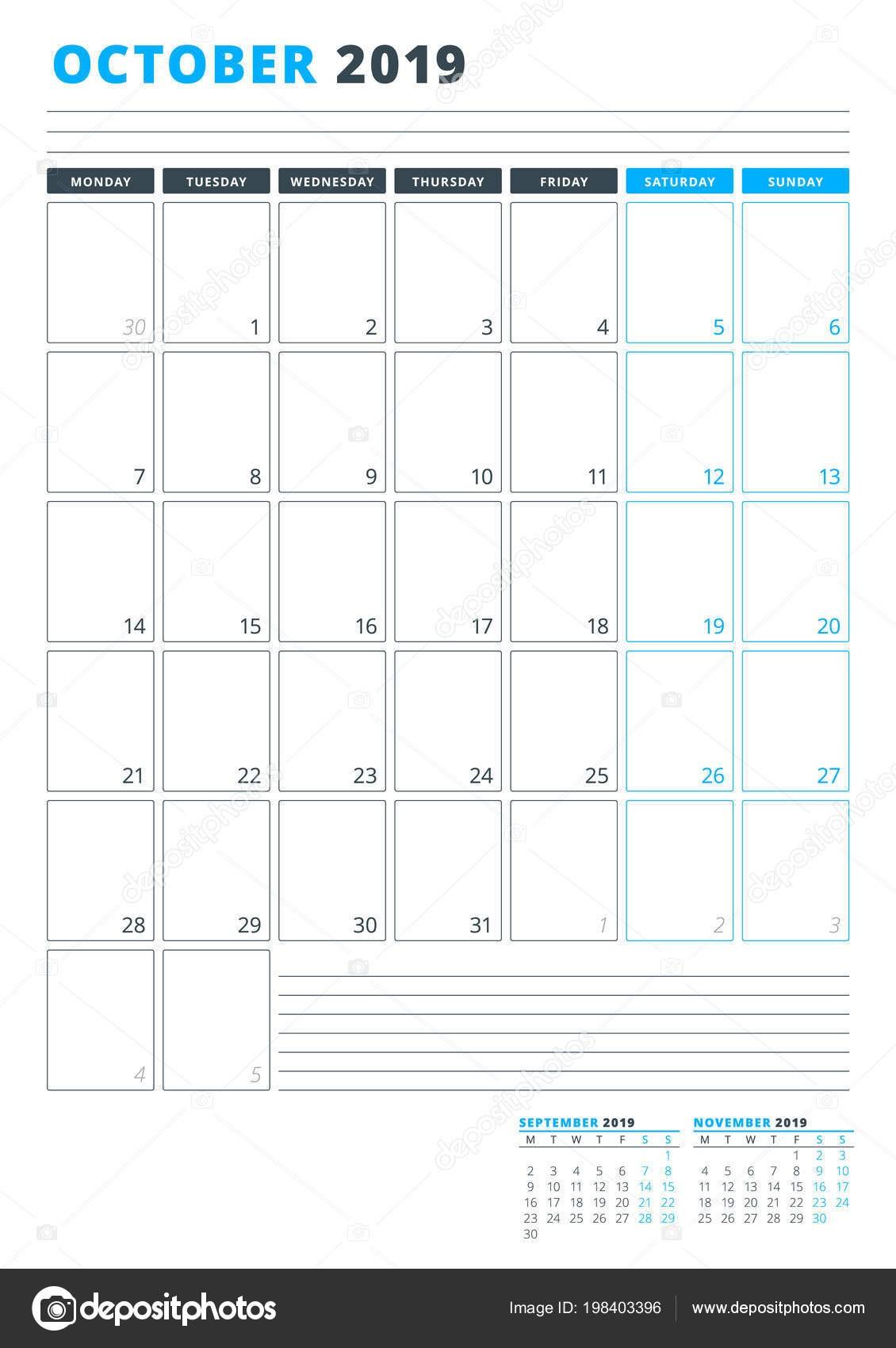 Calendario Bonito 2019 Para Imprimir Gratis Más Recientemente Liberado Calendario De Octubre 2019