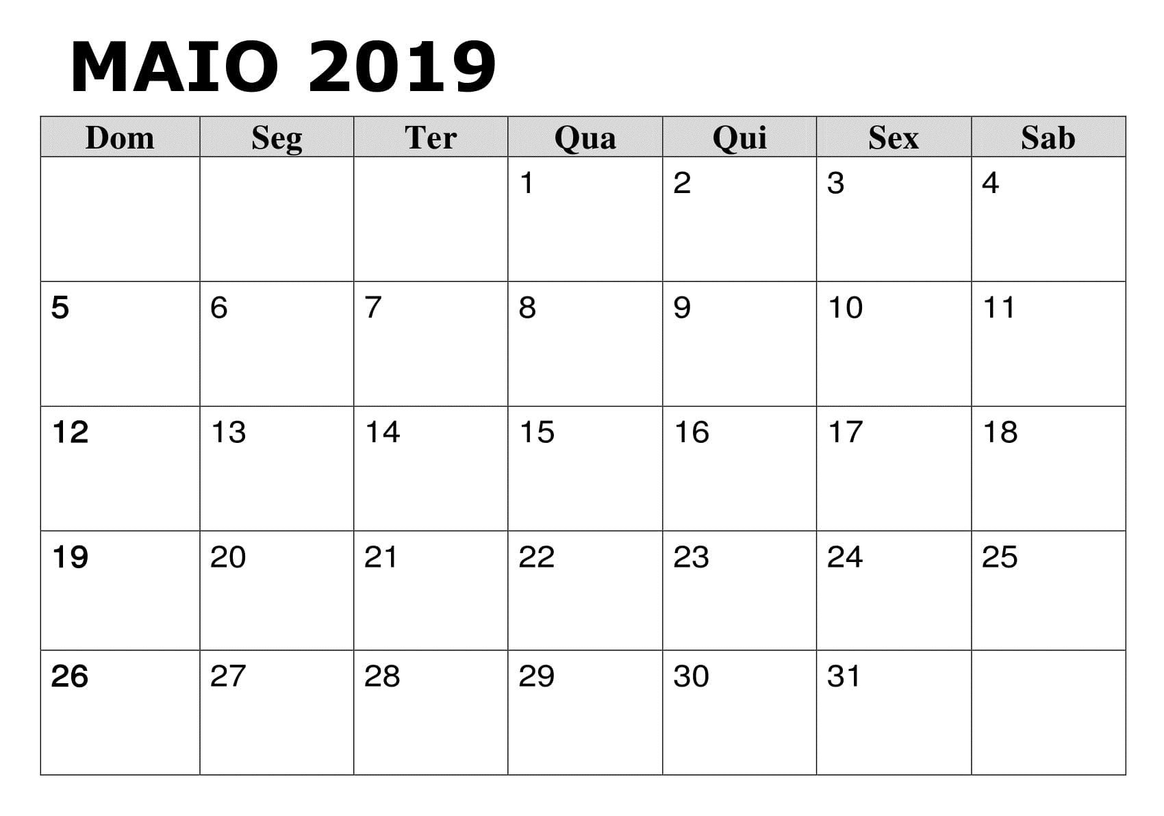 Calendario De Feriados 2019 Para Imprimir Más Caliente 2019 Calendário Maio Pdf Escola Of Calendario De Feriados 2019 Para Imprimir Más Caliente Este Es Sin Duda Calendario 2019 E Os Feriados