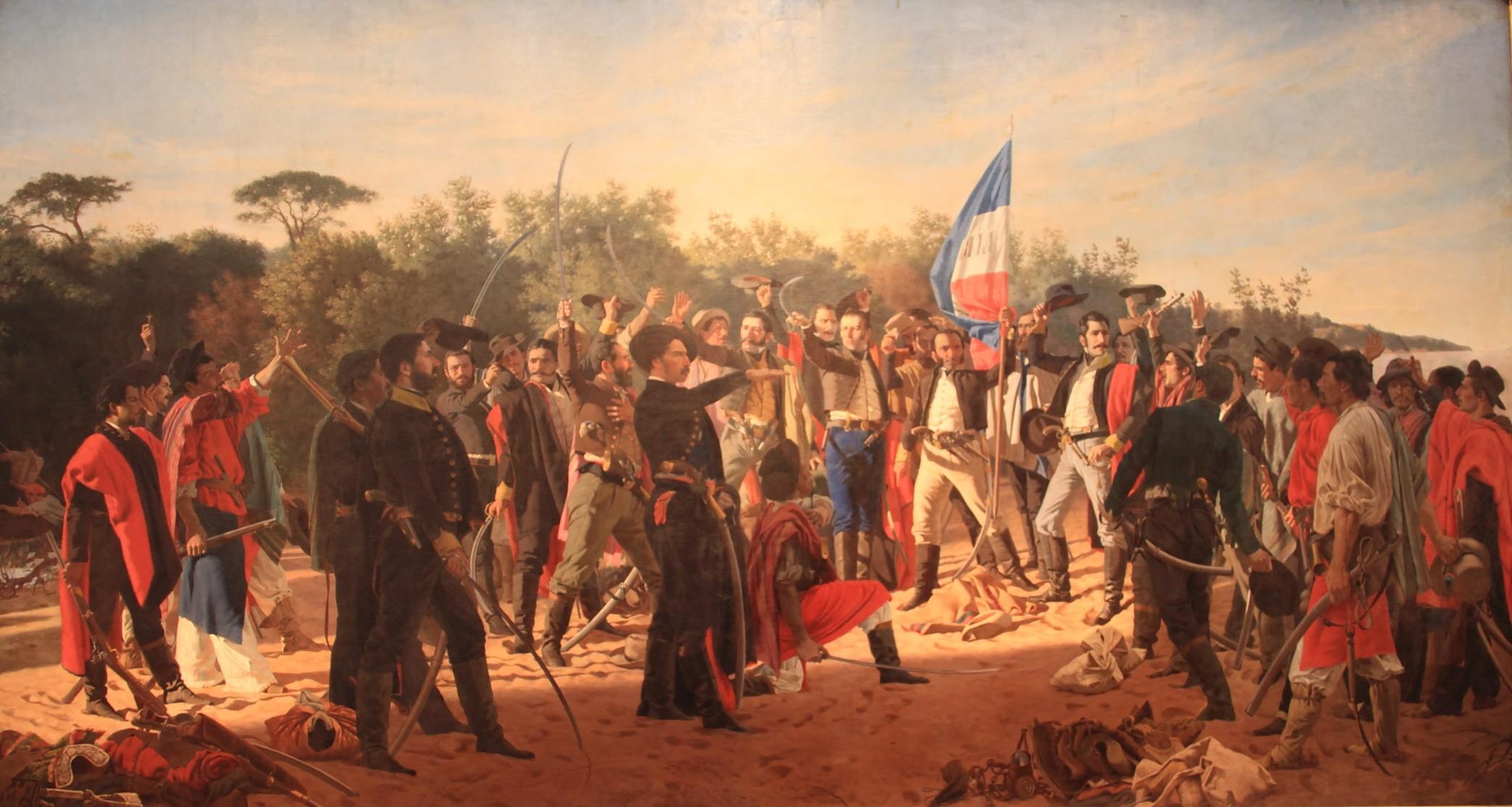 Juan Manuel Blanes El Juramento de los Treinta y Tres Orientales