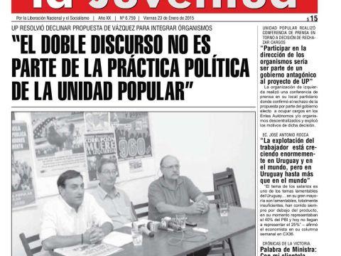 """Calendario Febrero 2020 Uruguay Más Recientemente Liberado Calaméo """"el Doble Discurso No Es Parte De La Prctica"""