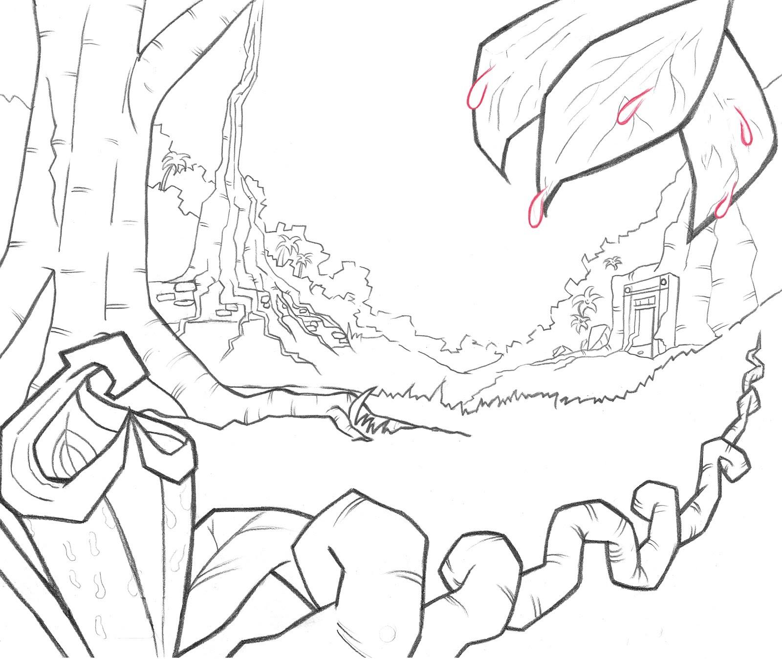 Demo Reel Jungle Outlines