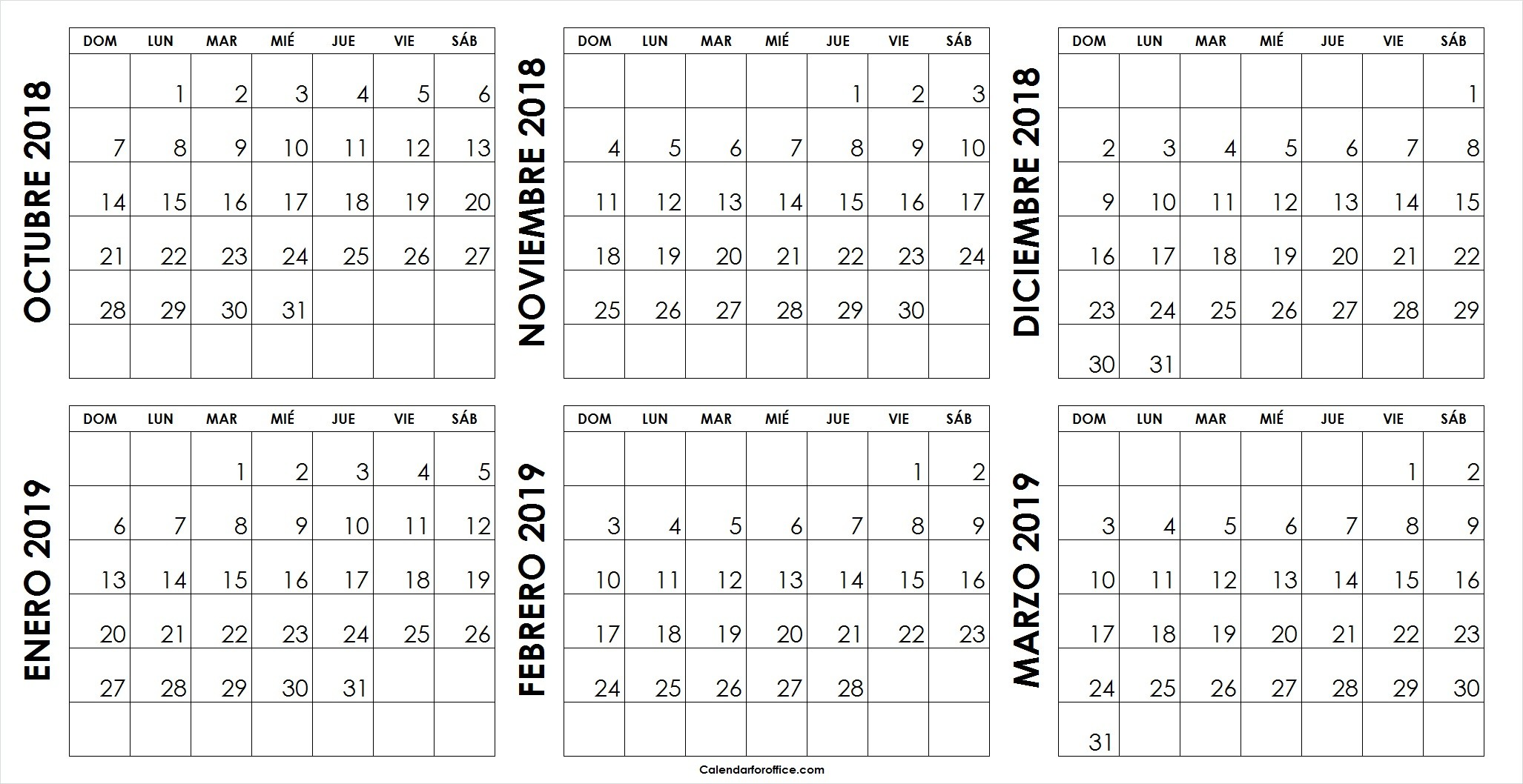 Imprimir Calendario De Marzo 2019 Más Recientes Calendario De Octubre 2019 Of Imprimir Calendario De Marzo 2019 Más Caliente Pin De Mara En Calendario
