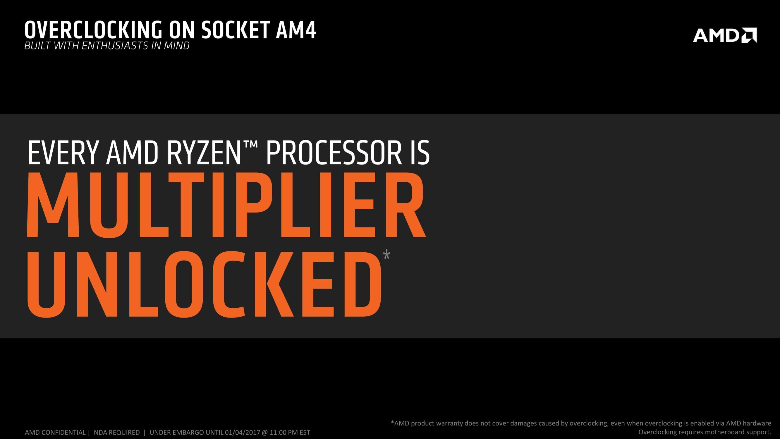 2017 AMD at CES Ryzen 05 1