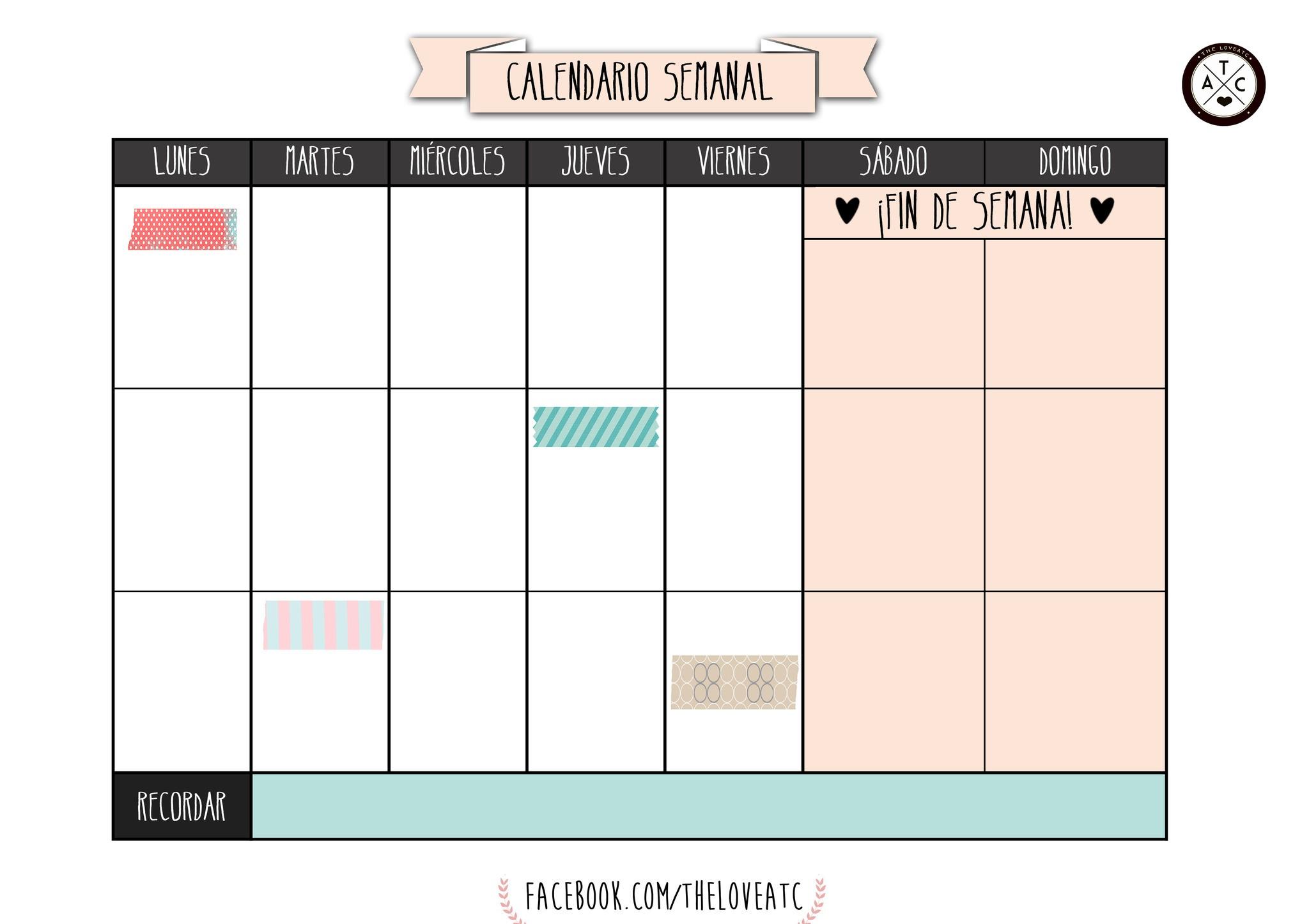 Imprimir Un Calendario De Mes Más Populares Vuelta Al Cole 2017 100 Plantillas Y Horarios Gratis Para Of Imprimir Un Calendario De Mes Más Reciente Calendario 2019 Colorido 2 Estilos Agendas