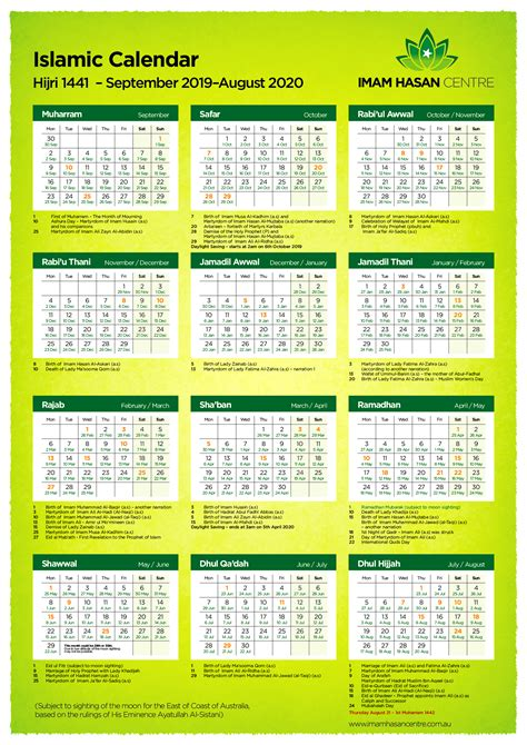Arabic Calendar 2022.Arabic Calendar 2020 Pdf Calendario 2019