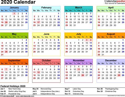 Calendar 2020 Pdf Malaysia Calendario 2019