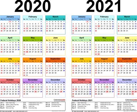 CALENDARIO 2020 Y 2021 EXCEL   Calendario 2019