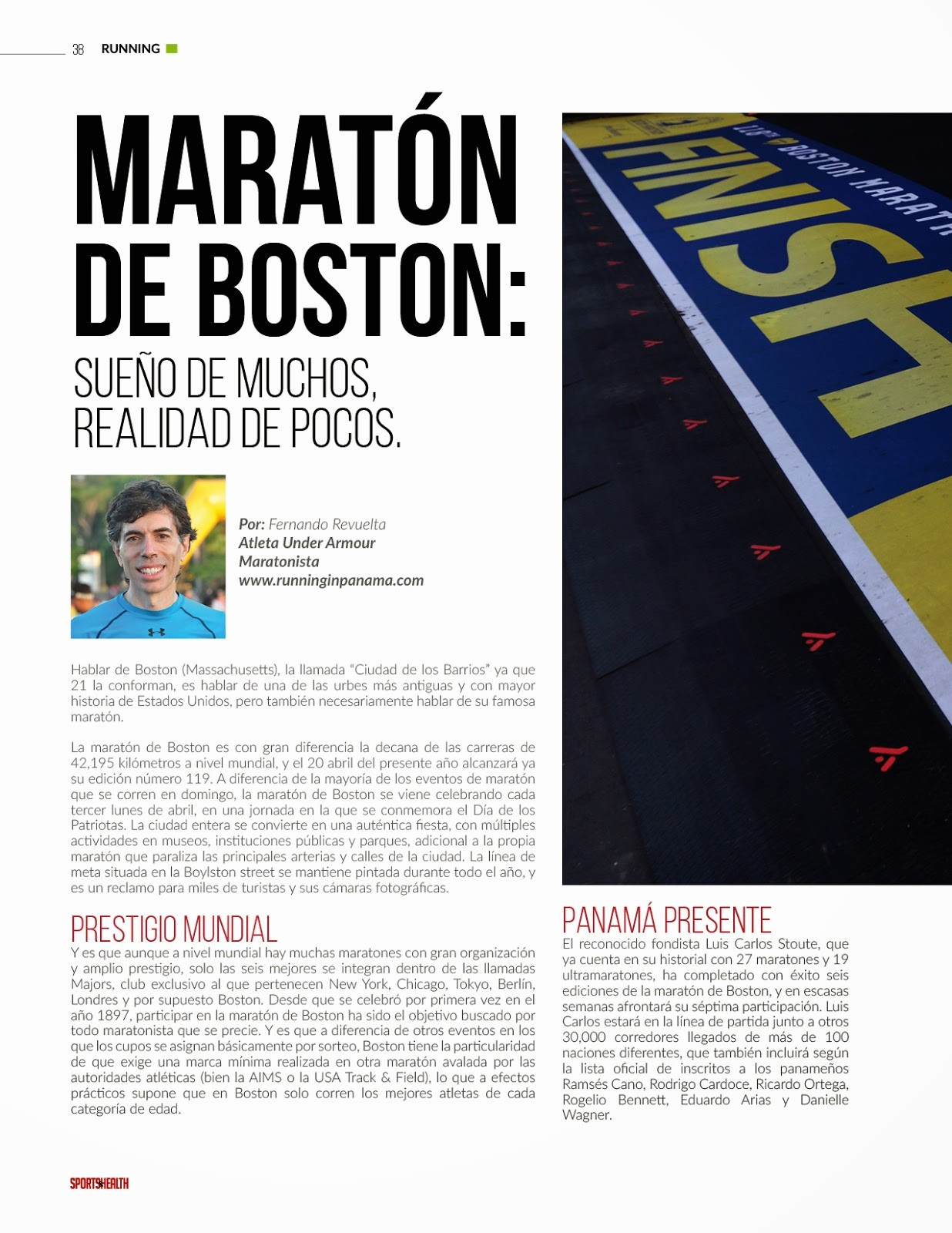 Maratón Boston 2015