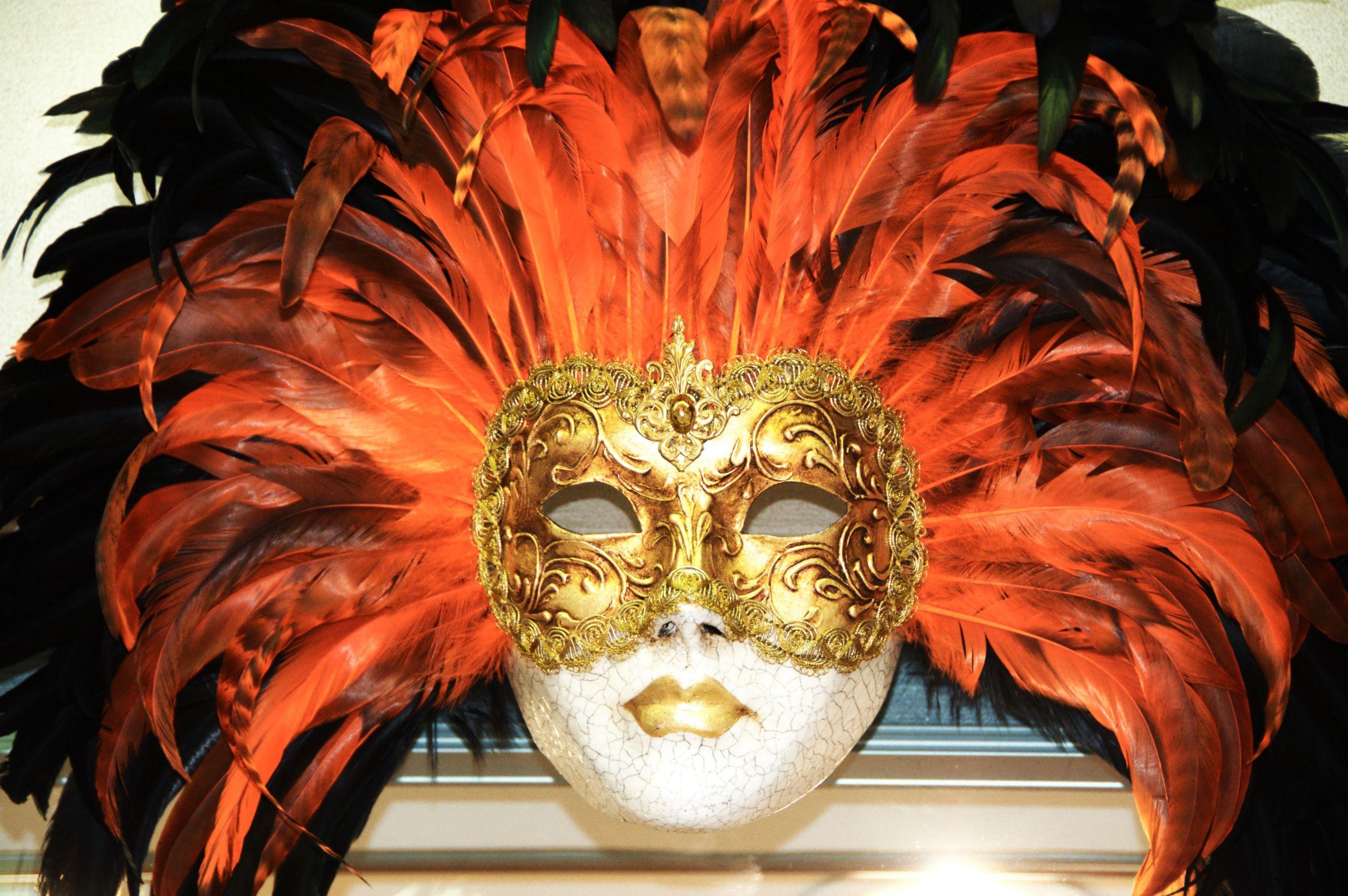 Venetian Carnival Mask Maschera di Carnevale Venice Italy Creative mons by gnuckx