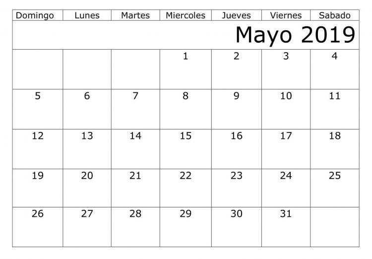 Calendario 2020 Festivos Mexico Más Recientes Calendario 2019 Con Festivos Colombia Word