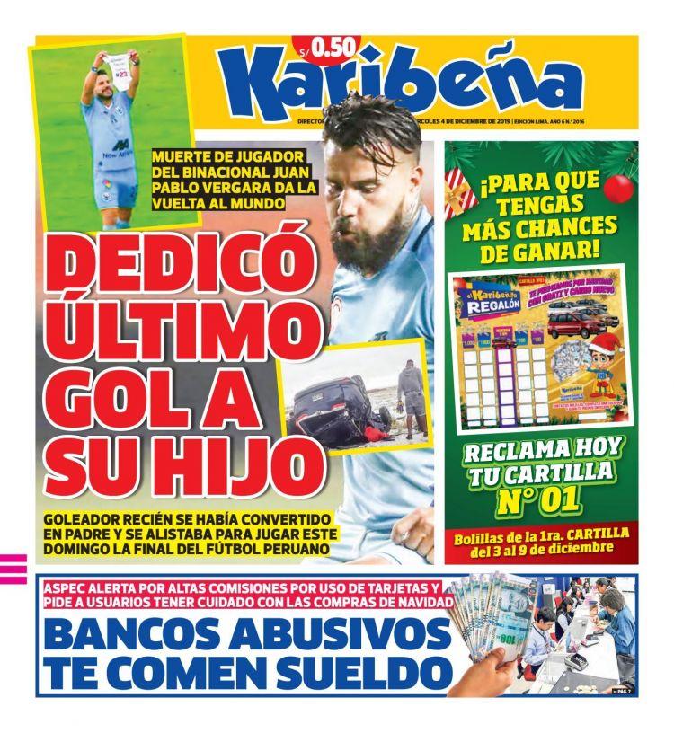 Calendario 2020 Venezuela Con Feriados Y Bancarios Para Imprimir Más Reciente Diario Karibe±a 04 12 2019 by Diario Karibe±a issuu