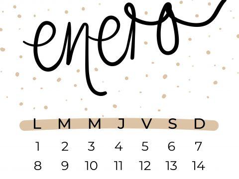 Calendario Enero Y Febrero De 2020 Más Populares 20 Mejores Imágenes De Calendarios Ahhh