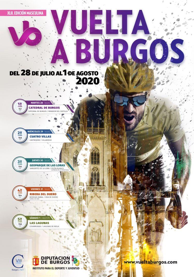 Calendario 2021 Castilla Y Leon Más Recientes El Cartel De La Vuelta A Burgos Se Fusiona Con La Catedral