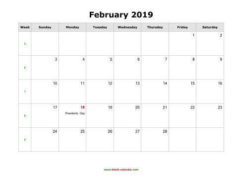 Calendario 2021 Descargar Más Recientes March 2019 Calendar Excel Más Recientes February 2019