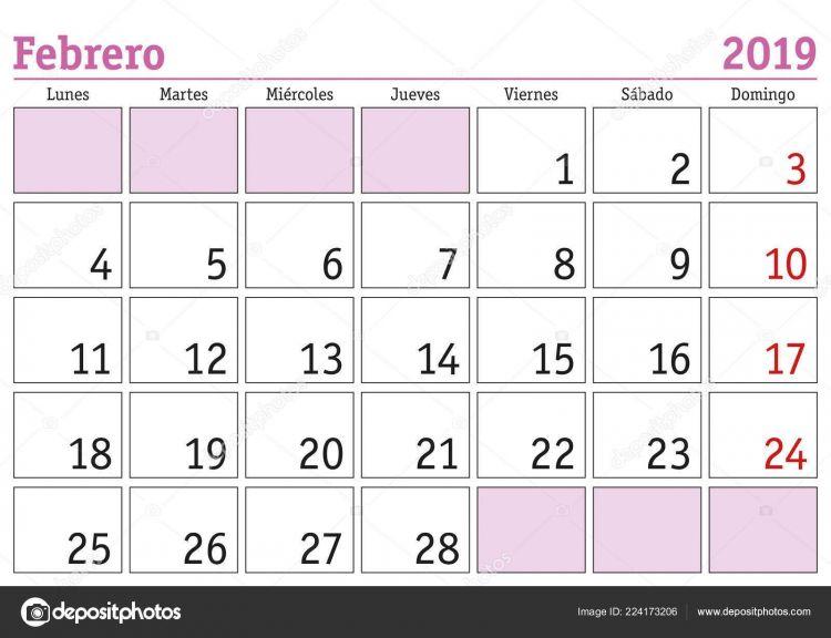 """Calendario 2021 Febrero Más Recientes Calendario 2019 Brasil Más Populares M""""›sc Å¡nor Roce"""