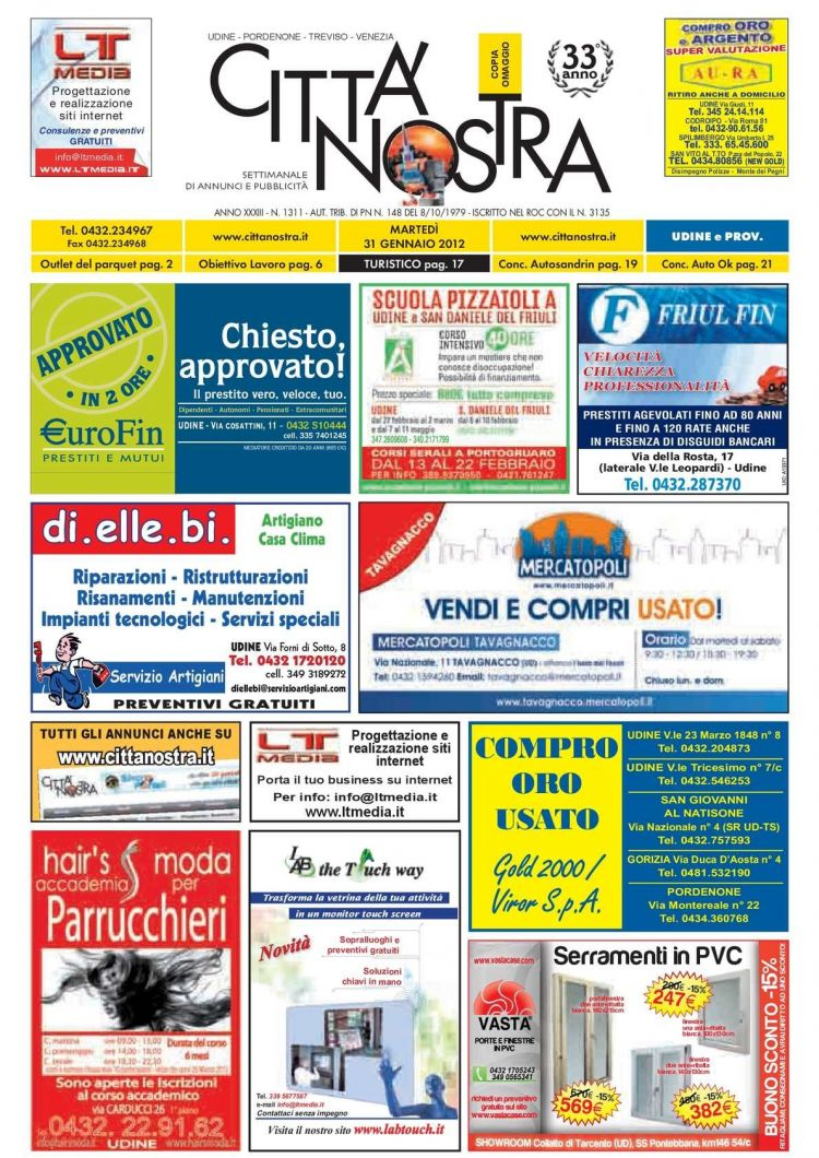 Calendario 2021 Hd Más Arriba-a-fecha Calaméo Citt Nostra Udine Del 31 01 2012 N 1311