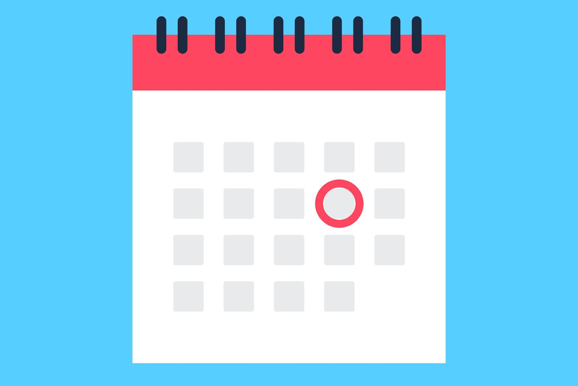 calendario feriados