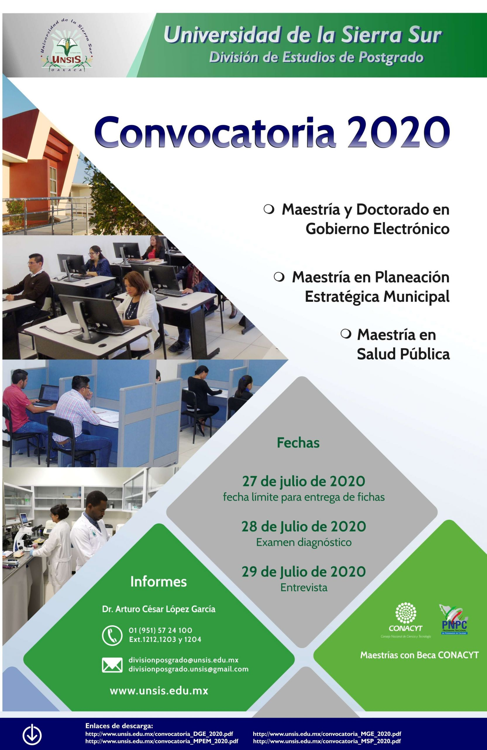 Convocatoria Postgrado 2020