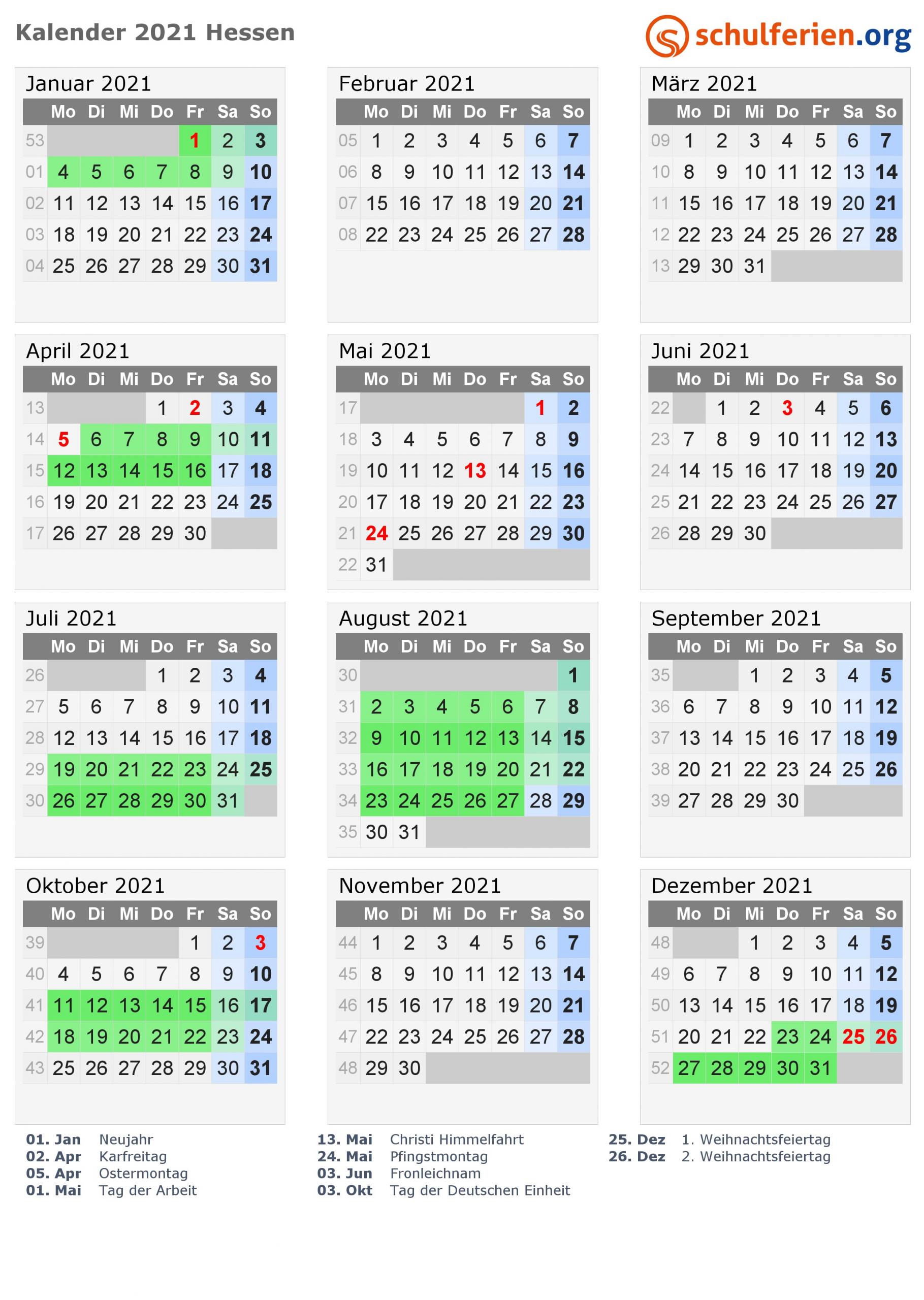 kalender 2021 hessen hoch