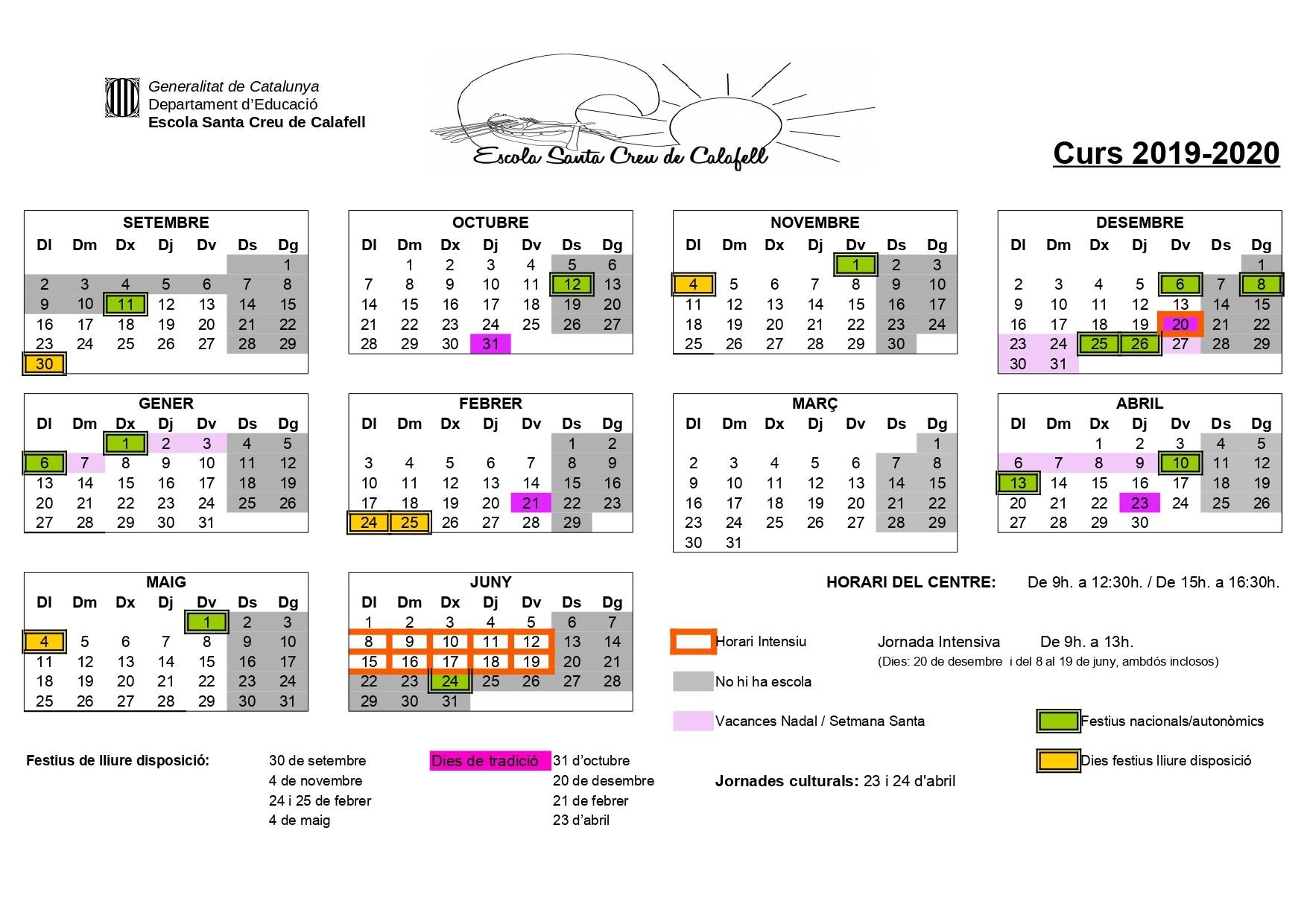 calendari escolar curs 2017 18