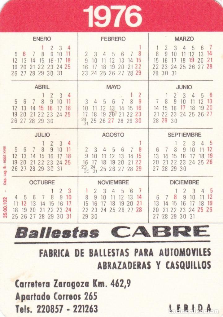 Calendario 1976 Más Reciente Calendario De Bolsillo Publicidad Año 1976 Prar