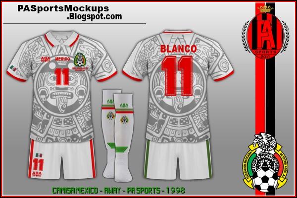 mexico copa do mundo 1998