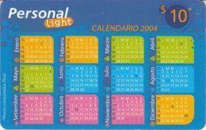 Calendario 2004 Calendars Personal Argentina