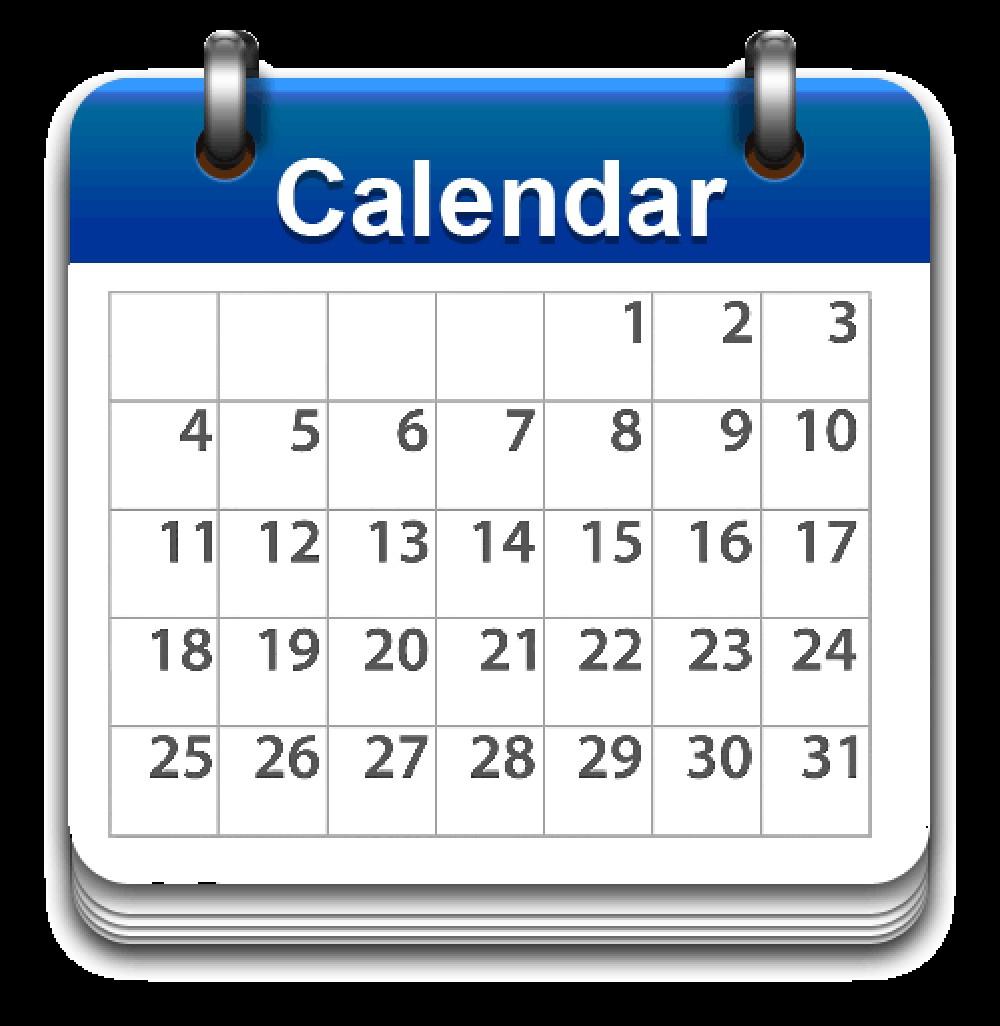 calendar icon blue sm