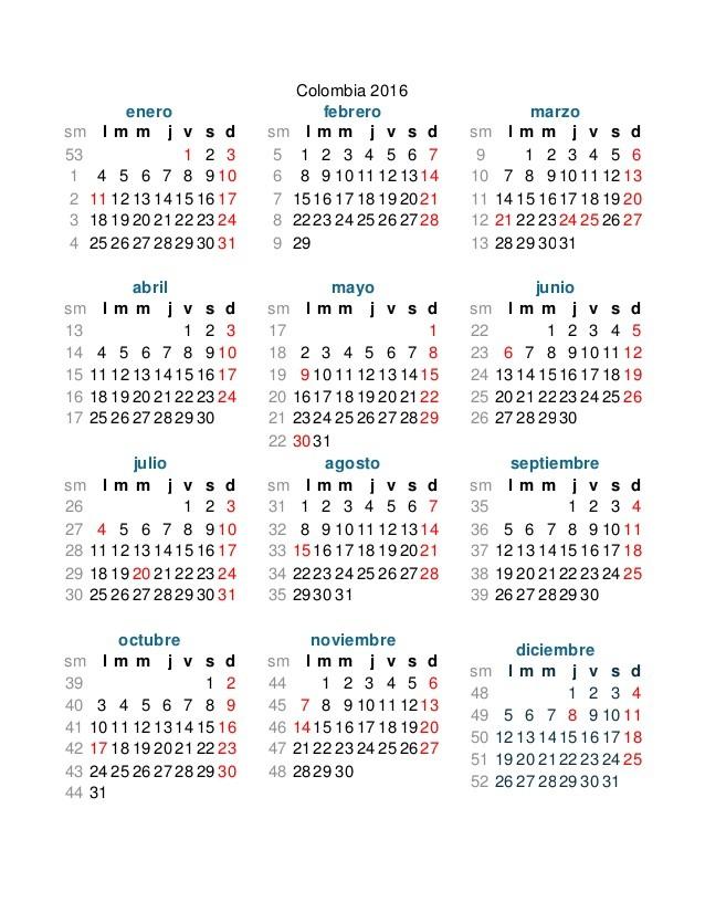 calendario tributario 2017 imprimir