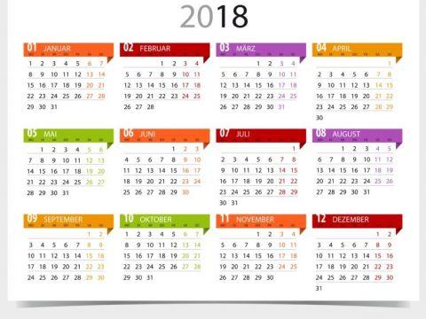 Calendario 2018 Colombia Más Recientes Calendario 2018 Para Imprimir Anual Mensual Escolar