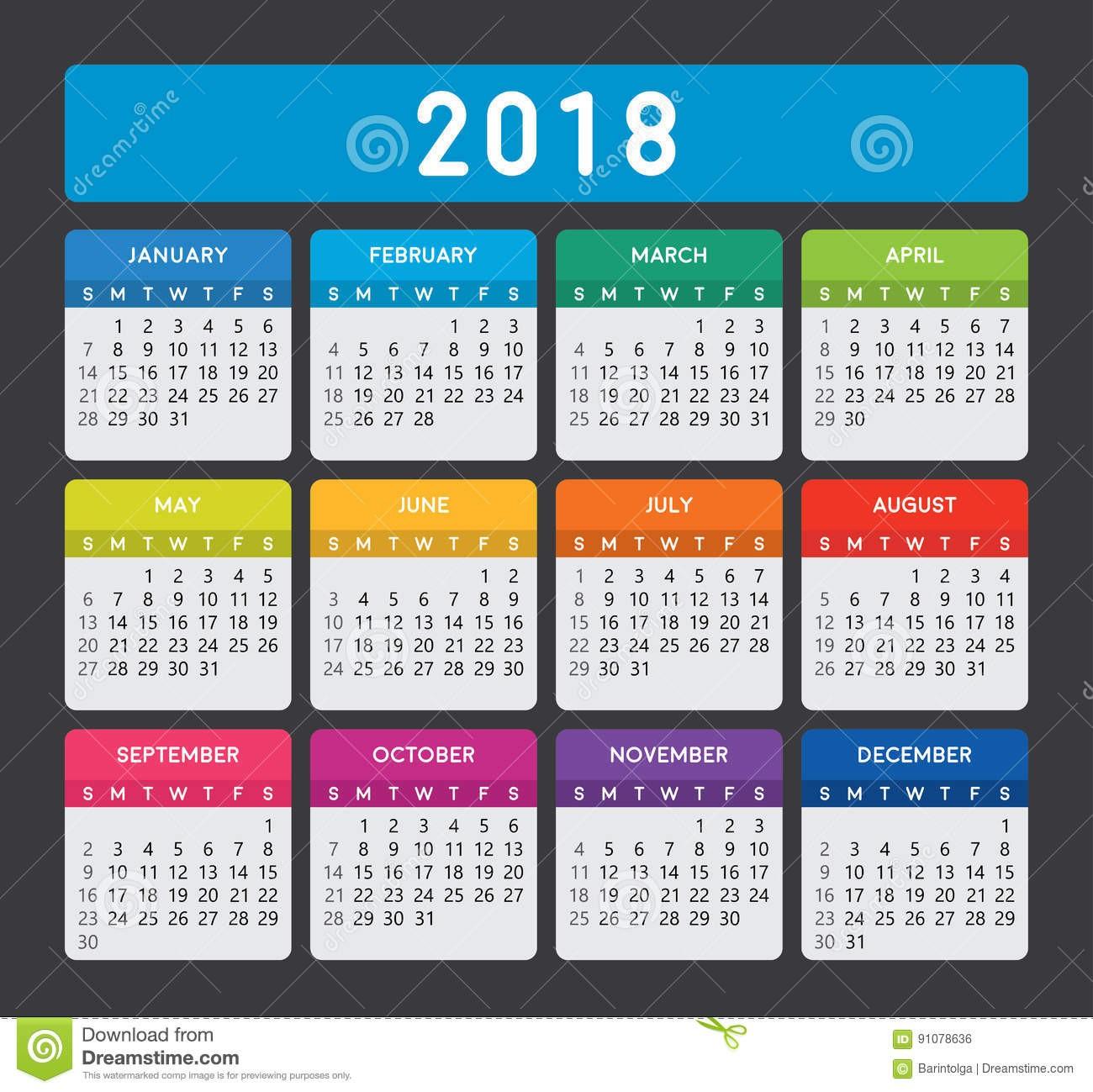 calendario 2018 colombia con festivos