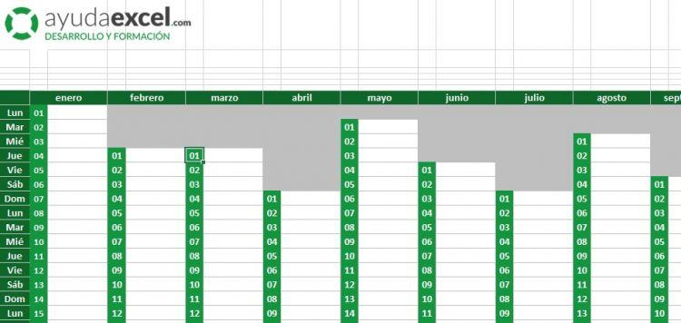Calendario 2018 En Excel Recientes Plantillas Calendario En Excel 2018