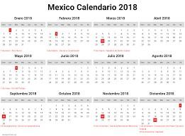calendario 2018 feriados